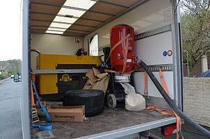 Equipment des CUT-THERM Teams von EMPUR