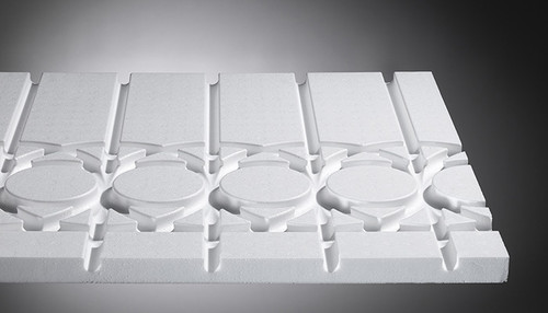 Product photo, system panel OPTIMAL II wall heating system